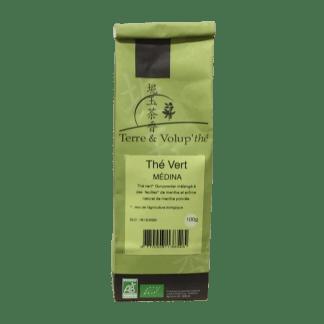 Thé vert Médina bio Terre & Volup'thé