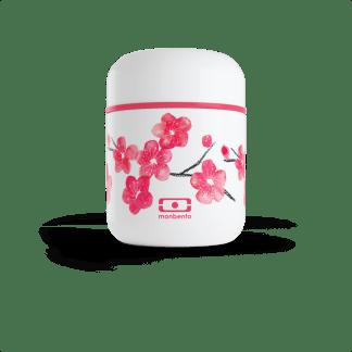 Boîte à bento isotherme MB Capsule graphic Blossom Monbento