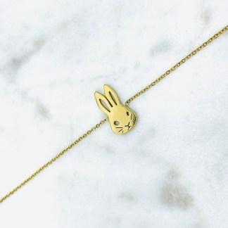 Bracelet Lapin doré 7bis