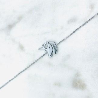 Bracelet Licorne argenté 7bis