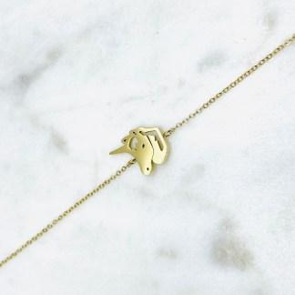 Bracelet Licorne doré 7bis