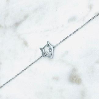 Bracelet Renard argenté 7bis