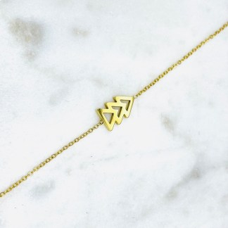 Bracelet Sapin doré 7bis