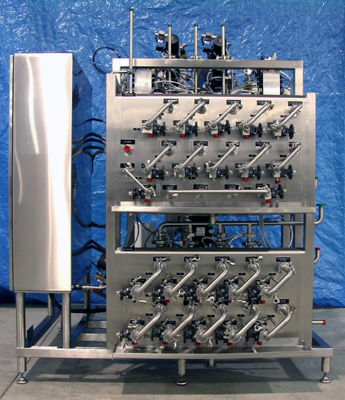 Liquid Chromatography Process Skids System