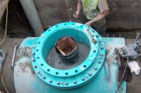 JCM 415 Tapping Sleeve for Concrete Steel Cylinder Pipe