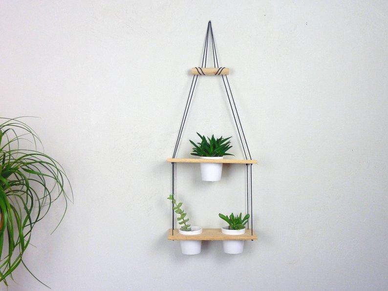 porte plante suspension