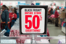 What is Black Friday Red Sale Sign