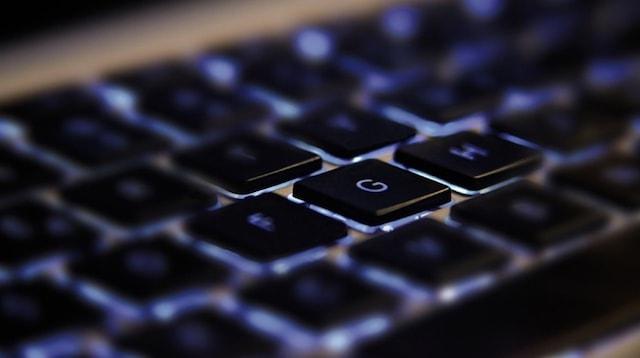 Magento Vs WooCommerce Closeup of Keyboard