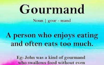 Gourmand – Word of the Day
