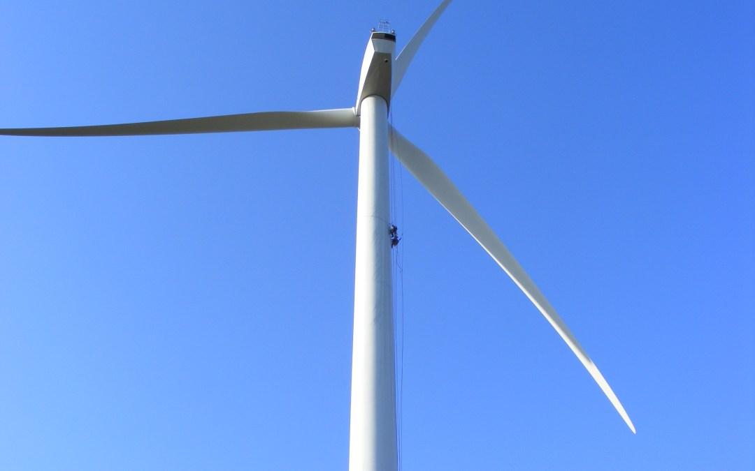 Parque Eólico do Joguinho | Vedação de uma das Flanges de Aerogerador