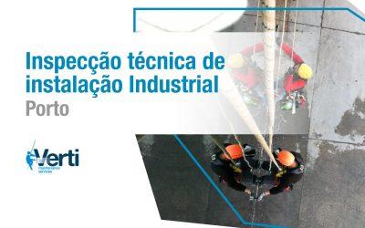 Inspecção técnica de instalação Industrial