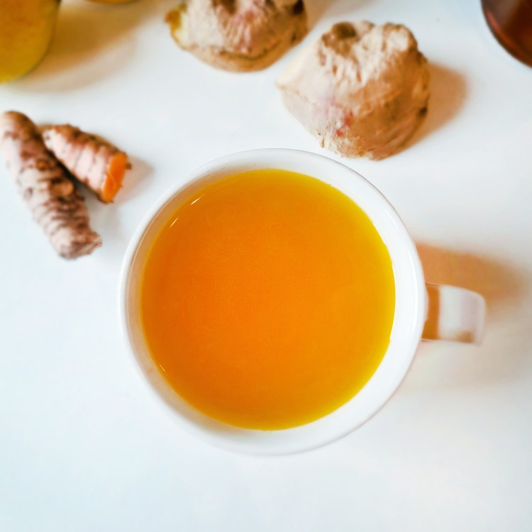 Turmeric and Ginger Root Tea