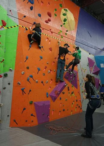 VATC Adaptive Climbing Coach Jordan