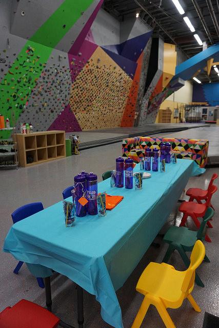 VATC Monkey Birthday Party Table