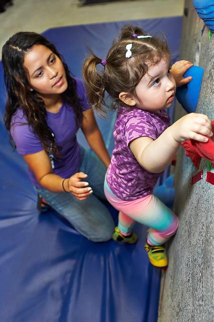 VATC Preschool Climb Liz and Arbor