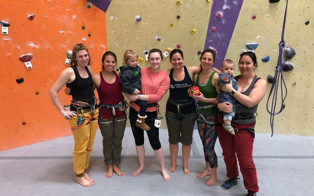 12 Ways to Tell If You're a Climbing Mom