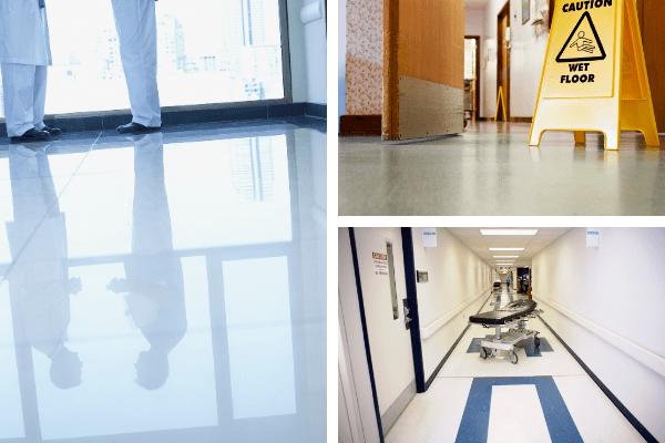 suelos de hospital