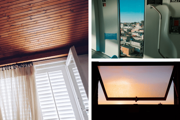 Tipos de ventana