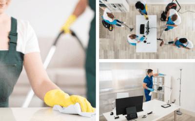 Limpieza de oficinas por Coronavirus
