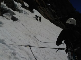 getting to grips with technical aspects of mountaineering
