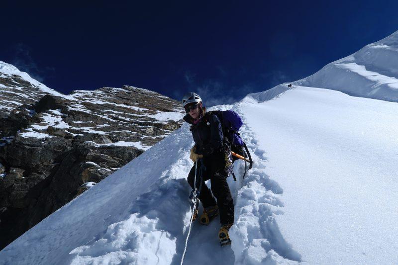 Janet Picket on descent