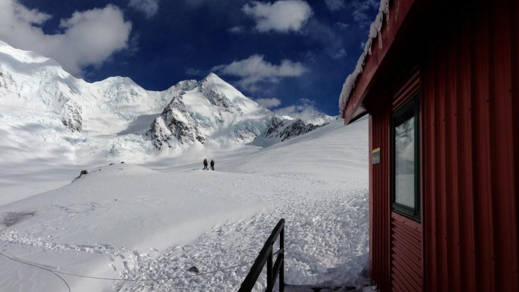 Mt Dixon from Plateau Hut
