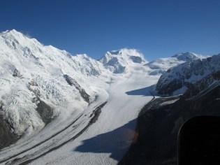 The Upper Tasman Glacier