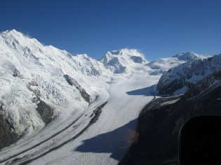 The Upper Tasman Glacier