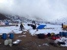 Sorting out basecamp