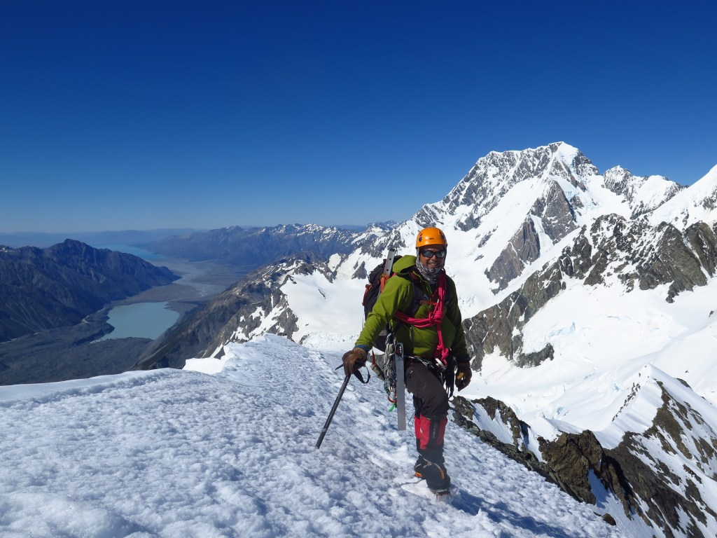 Mountaineering instruction in New Zealand