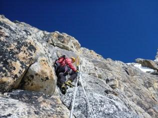 A fun bit of climbing
