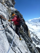 Exposed traverse - Image by Shaun Moore
