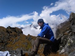 Harry - Resting at 4300m
