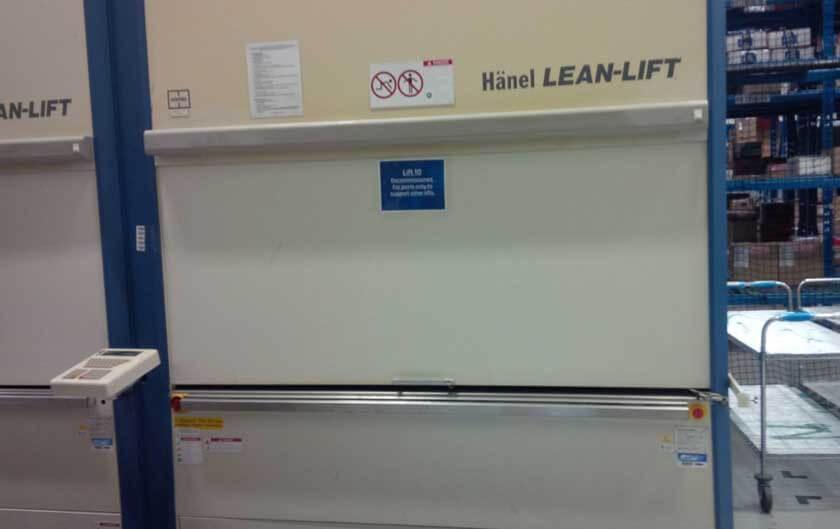 Used Hanel Lean Lift Vertical Lift Module
