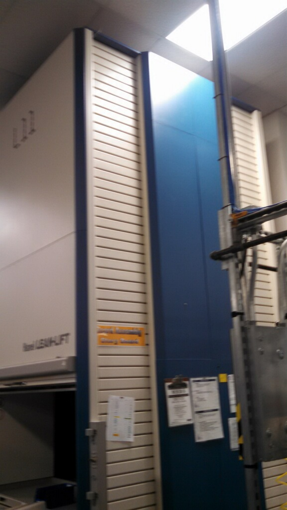 Used Vertical Lift Modules  2 Hanel Leanlifts