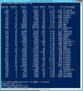 CFE on Windows screenshot