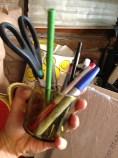 Dead pens. TRASH.