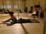 Mid to upper spine flexibility training