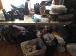 Tons of stuff to move.