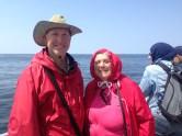 Grandma got to see whales
