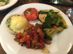 Breakfast with veggies