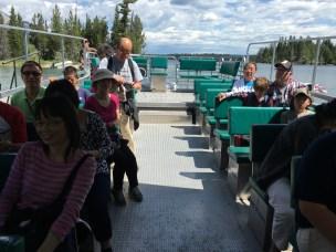 The Jenny Lake ferry
