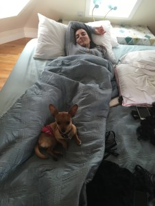 Napping with Michelle