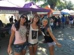 A trip to the Farmer's Market with Michelle, Maddie and Amy