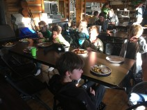 Kids ate together
