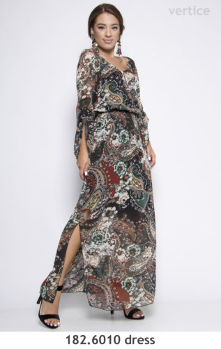 Maxi Floral Dress Plus Size
