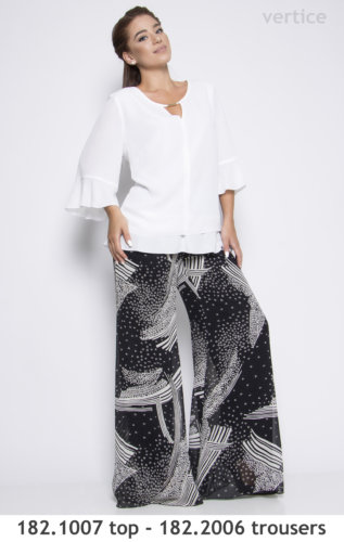 Plus size top trousers
