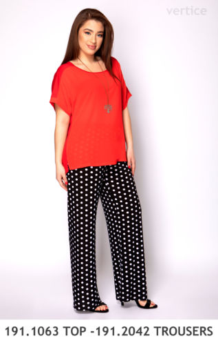 191.1063 TOP -191.2042 TROUSERS