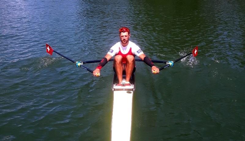 Nico Stahlberg Swiss Heavyweigth Rowing Team VERTICS.Sleeves