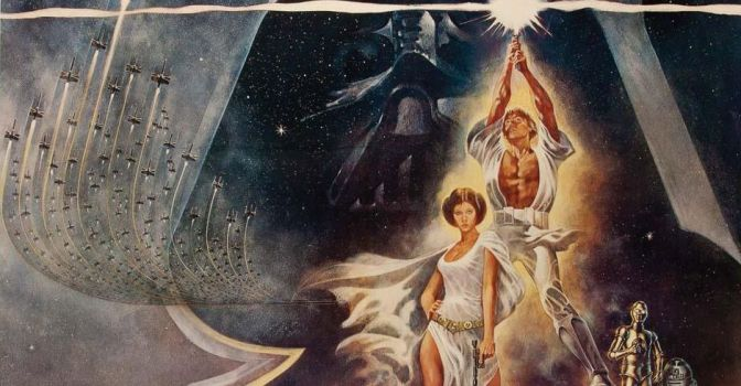Cartel de Star Wars